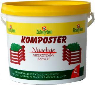Komposter - wzbogaca kompost i niweluje nieprzyjemny zapach - Zielony Dom - 4 kg
