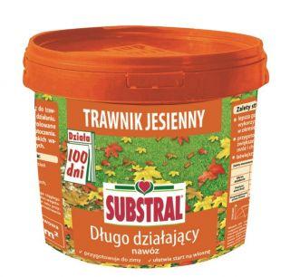 Nawóz długo działający do trawnika - jesienny - 100 dni - Substral - 5 kg