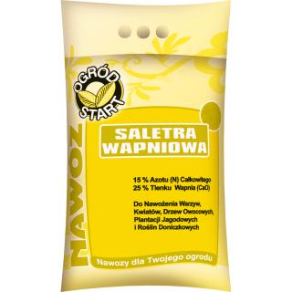 Saletra wapniowa - uniwersalny nawóz azotowo-wapniowy do ogrodu - 2 kg