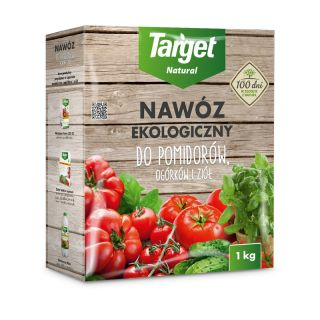 Eko nawóz granulowany do ziół, pomidorów i ogórków - Target - 1 kg