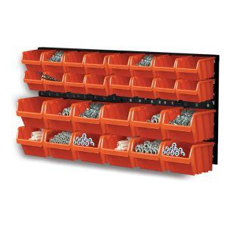 Zestaw kuwet, pojemników na narzędzia - 28 kuwet + tablica - NTBNP1