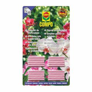 Pałeczki nawozowe do orchidei - długo działające! - Compo - 20 sztuk