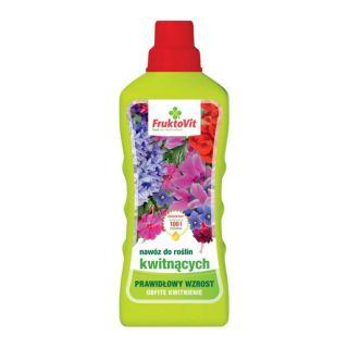 Mineralny nawóz do roślin kwitnących - Fruktovit - 1 litr