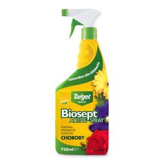 Biosept Activ Spray - wspomaga odporność roślin ozdobnych i warzyw - 750 ml - Target