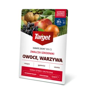 Karate Zeon 050 CS - na mszyce, gąsienice i inne szkodniki - Target - 5 ml