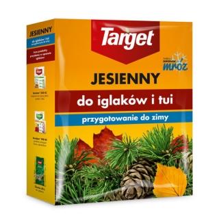 Nawóz jesienny do drzew i krzewów iglastych - gwarantuje mrozoodporność i zimotrwałość iglaków - Target - 1 kg
