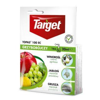 Topas 100 EC - na choroby grzybowe jabłoni, gruszy, winorośli i innych - Target - 20 ml