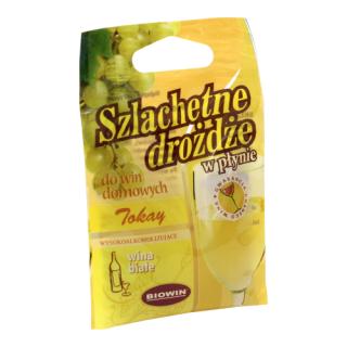 Drożdże winiarskie - Tokaj - 20 ml