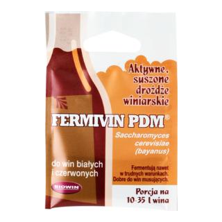 Drożdże winiarskie suszone - Fermivin PDM - 7 g