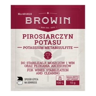 Pirosiarczyn potasu - do stabilizacji moszczów i win - 10 g