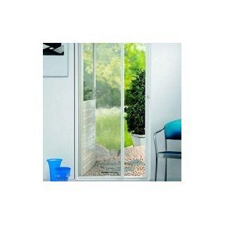 Biała siatka - moskitiera przeciw owadom - z taśmą samoprzylepną - 150 x 180 cm
