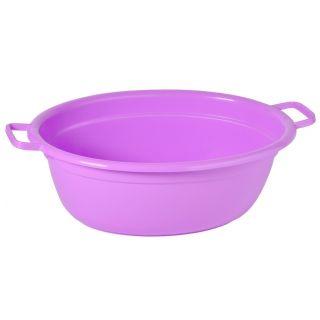 Wanna owalna na pranie - 45 cm długości - fioletowa