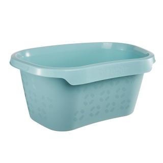 Wanna na pranie - Tilda - 57,5 x 38 cm - wodny niebieski