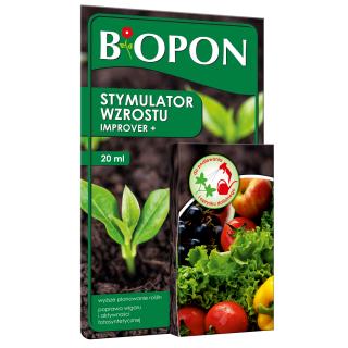 Improver+ - stymulator wzrostu roślin - do wszystkich roślin - Biopon - 20 ml