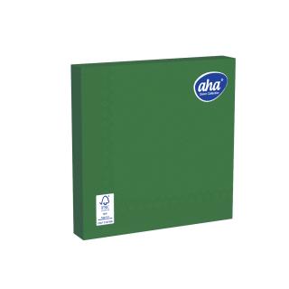 Serwetki papierowe - 33 x 33 cm - AHA - 20 szt. - zielone
