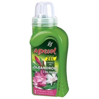 Nawóz w formie wydajnego żelu do oleandrów i oliwek- Agrecol - 250 ml