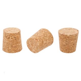 Korek naturalny stożkowy - aglomerowany - 40/33 mm