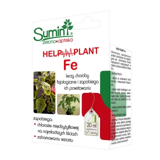 Help Plant Fe - na chlorozę młodych liści i zahamowanie wzrostu - Sumin - 20 ml