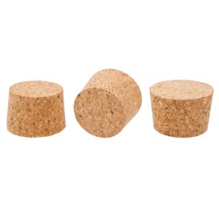 Korek naturalny stożkowy - aglomerowany - 55/46 mm