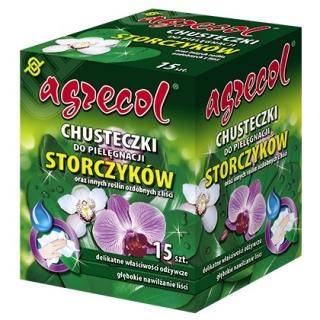 Chusteczka do pielęgnacji storczyków i innych roślin domowych - Agrecol