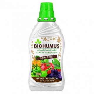 Biohumus - uniwersalny nawóz organiczny w płynie - Agrecol - 500 ml