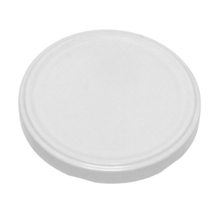 Zakrętka do słoików - biała - śr. 66 mm