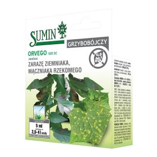 Orvego 525 SC - najlepszy na choroby grzybowe pomidorów i ogórków - Sumin - 5 ml