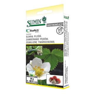 Switch 62,5 WG - na choroby grzybowe warzyw, drzew owocowych i roślin ozdobnych - Sumin - 25 g