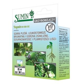 Topsin M 500 SC - na mączniaka, szarą pleśń i inne choroby grzybowe - Sumin - 20 ml