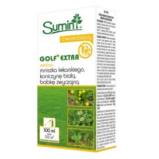 Golf Extra - zwalcza chwasty jednoroczne i wieloletnie w trawnikach - Sumin - 100 ml