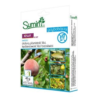 Syllit 65 WP - na parcha gruszy i jabłoni, kędzierzawość i plamistość liści - Sumin - 45 g