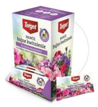 Nawóz do roślin domowych i balkonowych - Bujne Kwitnienie - Target - 10 ml