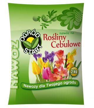 Nawóz do wszystkich roślin cebulowych - duże opakowanie - Ogród-Start - 2 kg