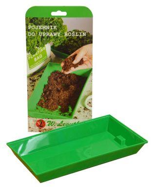Microgreens - Pojemnik do uprawy - młode listki o unikalnym smaku