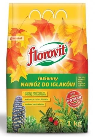 Nawóz jesienny do iglaków - Florovit - 3 kg