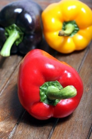Papryka słodka mieszanka odmian do uprawy w gruncie