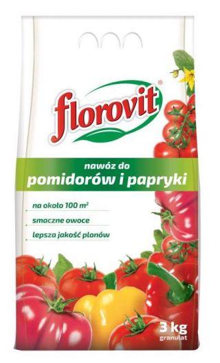 Nawóz do pomidorów i papryki - Florovit - 3 kg