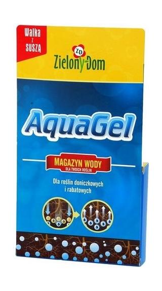 Magazyn wody dla roślin AquaGel - preparat do roślin doniczkowych i rabatowych