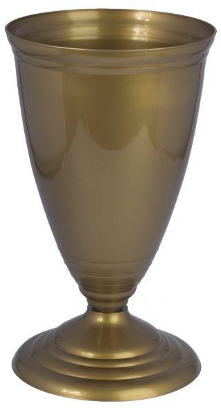 Flakon niski Polo - złoty