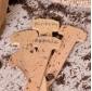 Etykiety drewniane do podpisywania roślin - ekologiczne - 5 szt.